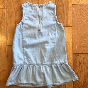GAP Dresses - Sleeveless Light Denim Dress